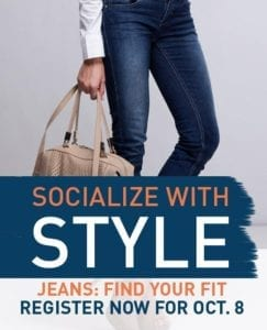 Socialize with Style October Cyndy Porter Jeans Whisperer