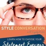 choosing glasses eyewear readers with cyndy porter