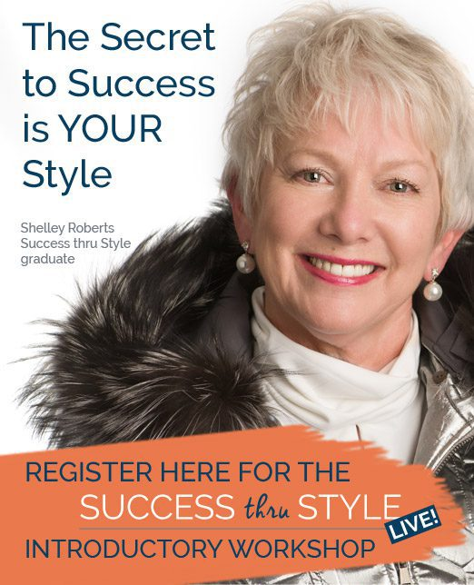 Cyndy Porter Success thru Style personal branding webinar