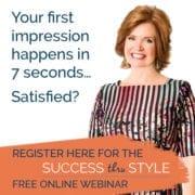 Cyndy Porter Success thru Style Free Webinar